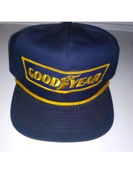 Hat Vtg Goodyear #1 In Racing Snapback Hat Baseball Cap Patch Swingster Usa by Swingster