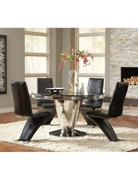 Infini Furnishings Fellini 5 Piece Dining Set & Reviews by Infini Furnishings