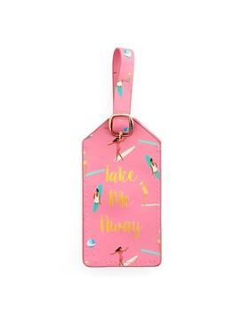 "Lc Lauren Conrad ""Take Me Away"" Luggage Tag by Kohl's"