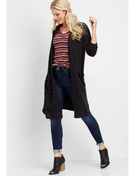 Brushed Duster Cardigan by Maurices