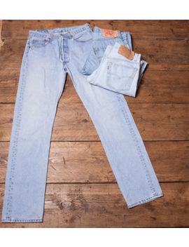 Vintage Levi Levis Jeans 501 Grade A Mens Denim Size 29 30 31 32 33 34 36 38 40 by Levi Strauss & Co