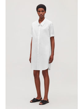 Shirt Dress With Dropped Collar by Cos