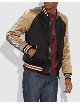 Reversible Leather Souvenir Jacket by Coach