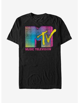 Mtv Stripe Logo T Shirt by Hot Topic