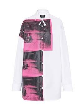 X Andy Warhol Printed Cotton Shirt by Calvin Klein 205 W39 Nyc