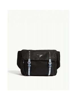 Studded Nylon Belt Bag by Prada