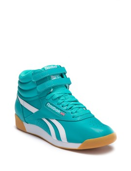 Freestyle Hi Top Sneakers by Reebok
