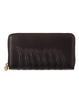 Ribcage Zipper Around Wallet by Alexander Mcqueen