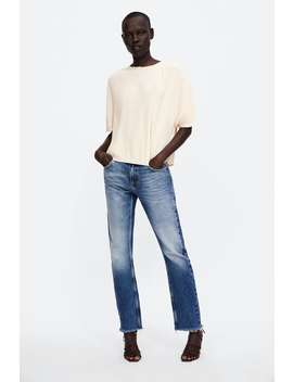 Blouse With Irregular Pleats  View All Shirts by Zara