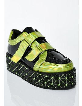 Neon Moon Roxx Mondo Creepers by Tuk