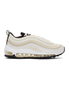 White Air Max '97 Sneakers by Nike