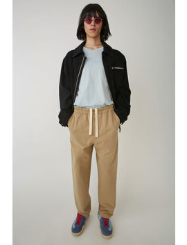 Casual Trousers  Sand Beige by Acne Studios