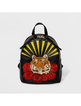 Tiger Embroidery Mini Backpack   Wild Fable™ Black by Shop All Wild Fable™