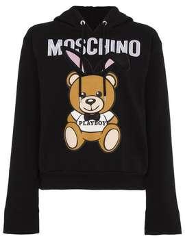 Moschino Playboy Hooded Sweatshirt by Moschino