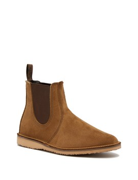 Weekend Suede Chelsea Boot   Factory Second by Red Wing