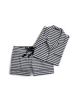Dreamy Stripe Knit Pajamas by J.Crew
