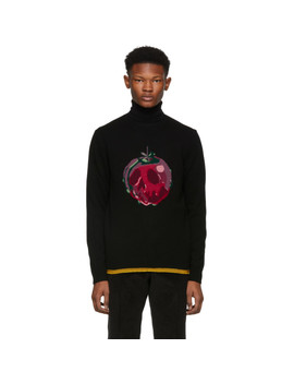 Black Disney Edition 'poison Apple' Sweater by Coach 1941