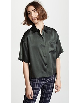 Easy Pj Buttondown by Theory