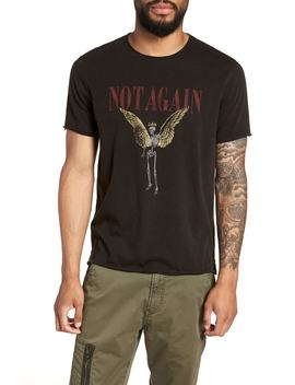 Not Again Graphic T Shirt by John Varvatos Star Usa