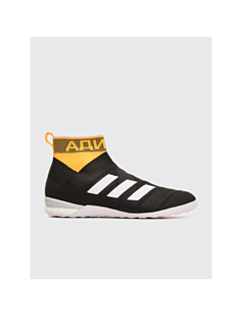 Gosha Rubchinskiy Adidas Nemeziz Mid Core Black / Orange by Très Bien