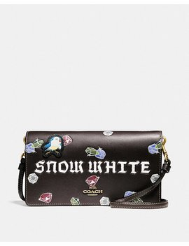 Disney X Coach Snow White Foldover Crossbody Clutch by Coach