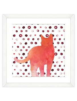 Cat Watercolor Wall Art by Bed Bath And Beyond