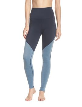 Angled High Waist Leggings by Beyond Yoga