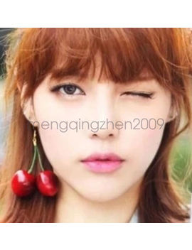 Hot Women Fashion Girl Red Cherry Earring Eardrop Ear Accessories Jewelry by Ebay Seller