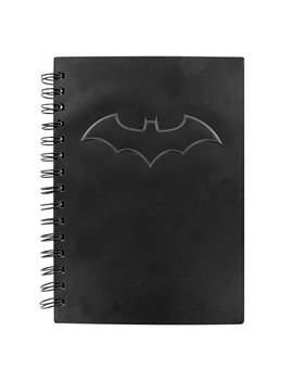Paladone Dc Comics Black Embossed Batman Logo A5 Notebook by Paladone