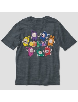 Boys' Oddbods Short Sleeve T Shirt   Charcoal Heather by Shop All Oddbods