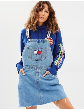 90s Dungaree Dress by Tommy Jeans