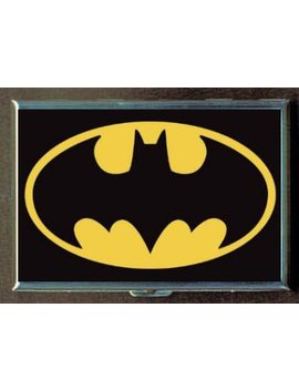 Bat Signal Batman Logo Double Sided Cigarette Case, Id Holder, Wallet With Rfid Theft Protection by Vice Chick