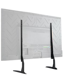 "Vivo Universal Lcd Flat Screen Tv Table Top Vesa Mount Stand Black | Base Fits 22"" To 65"" (Stand Tv00 Y) by Vivo"