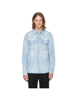 Blue Denim Social Sculpture Shirt by Visvim