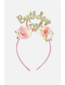 Novelty Headband by Cotton On
