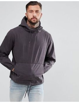 Another Influence Enzyme Wash Overhead Jacket by Jacket
