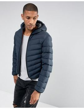 Brave Soul Hooded Padded Jacket by Jacket