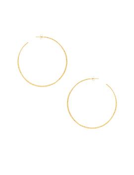 Taner Xl Hoop Earrings by Gorjana