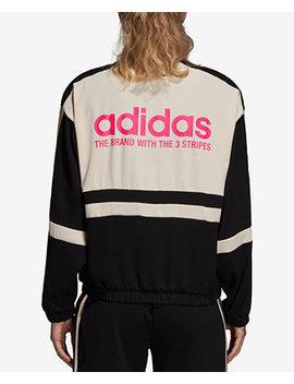 Colorblocked Track Jacket by Adidas Originals