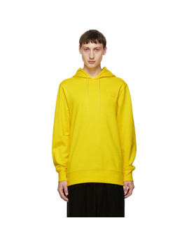 Yellow Logo Classic Hoodie by Y 3