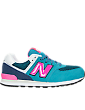 Girls' Grade School New Balance 574 Casual Shoes by New Balance