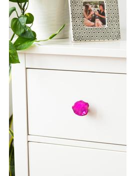 Pink Agate Knob by Francesca's