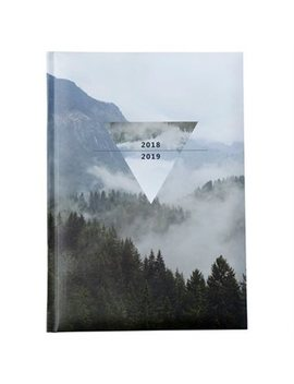 2018 2019 Embossed Softcover Academic Agenda Forest by Pierre Belvedere