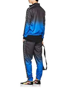 Logo Gradient Fleece Track Pants by Marcelo Burlon   County Of Milan X Kappa