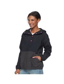 Women's Columbia Amberley Stream Hooded Colorblock Pullover Jacket by Kohl's