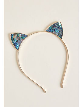 She's Claw That Cat Headband by Modcloth