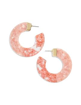 Dakota Two Tone Hoop Earrings by Baublebar