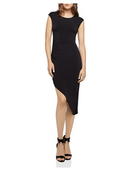 Asymmetric Ruched Dress by Bcb Generation