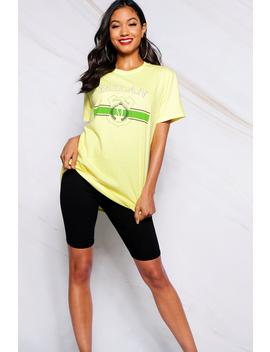Milan Slogan T Shirt by Boohoo