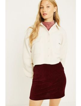 Uo Stretch Corduroy Mini Skirt by Urban Outfitters